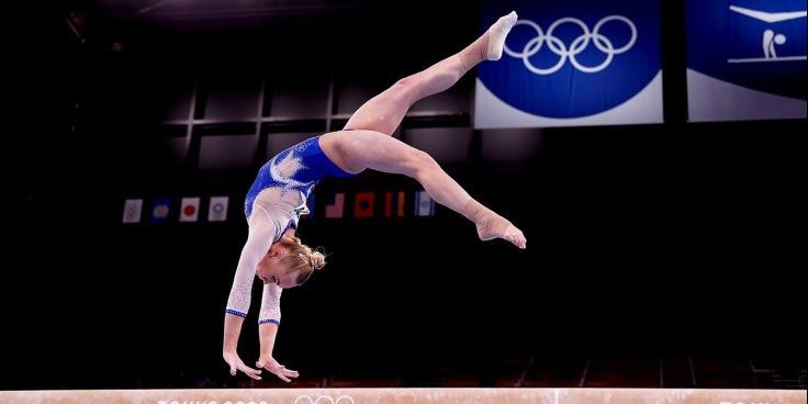 Российские гимнастки впервые в истории победили на Олимпиаде в командном многоборье