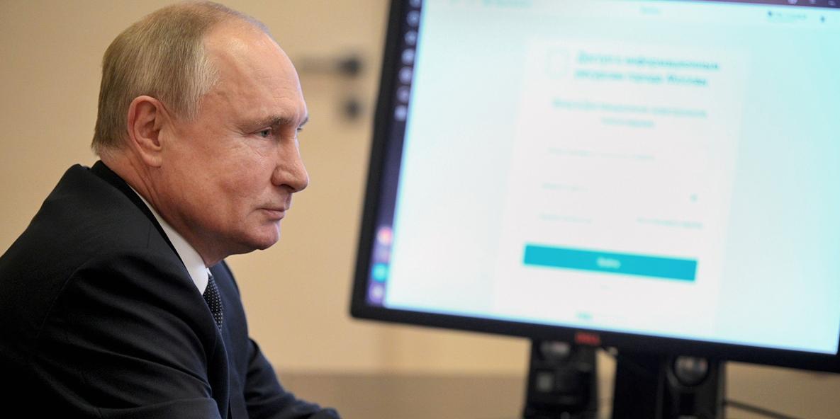 Путин: избранным главам регионов следует держать реализацию нацпроектов под личным контролем