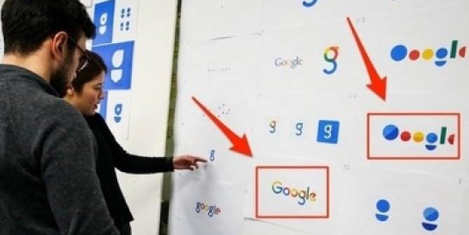 Новый логотип Google разработан российским дизайнером в 2008 году