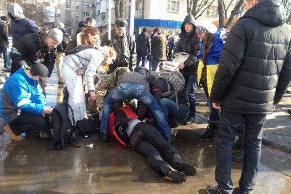 Харьковские партизаны: взрыв был произведен по приказу Авакова