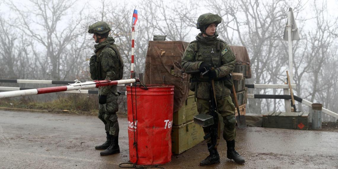 В Карабахе обстреляли пост погранслужбы ФСБ России