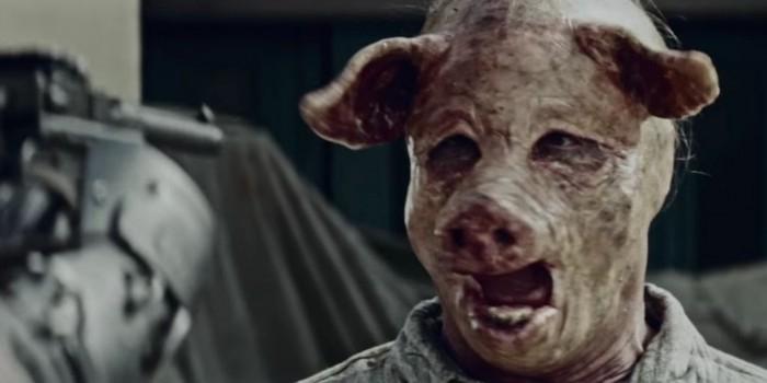 Вышел трейлер трэш-сериала о сопротивлении мировому правительству свиней
