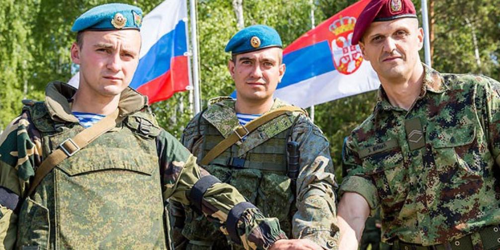 Россия и Сербия отправят военных в Белоруссию на учения