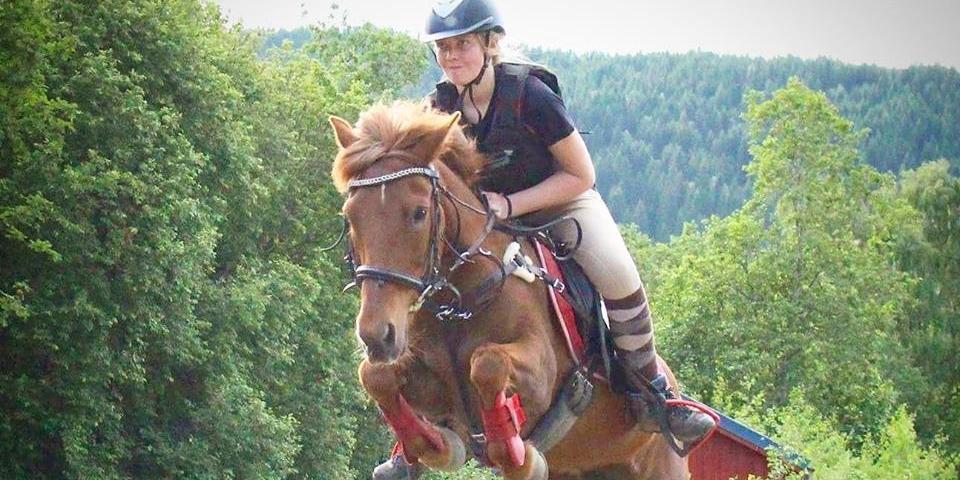 В Норвегии 18-летняя наездница съела свою лошадь