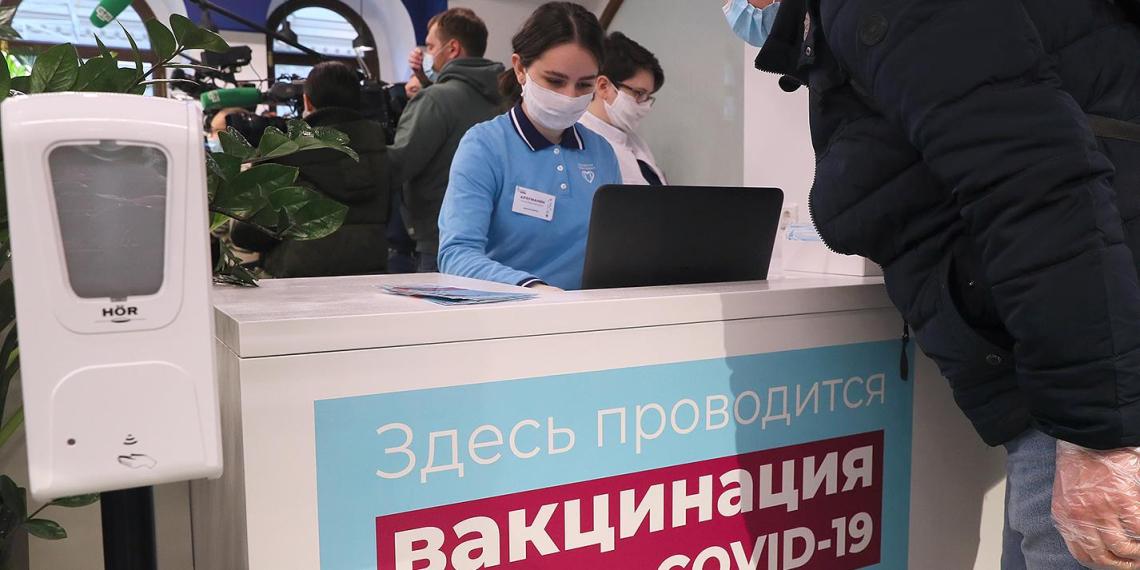 В ГУМе открылся новый центр вакцинации от COVID-19