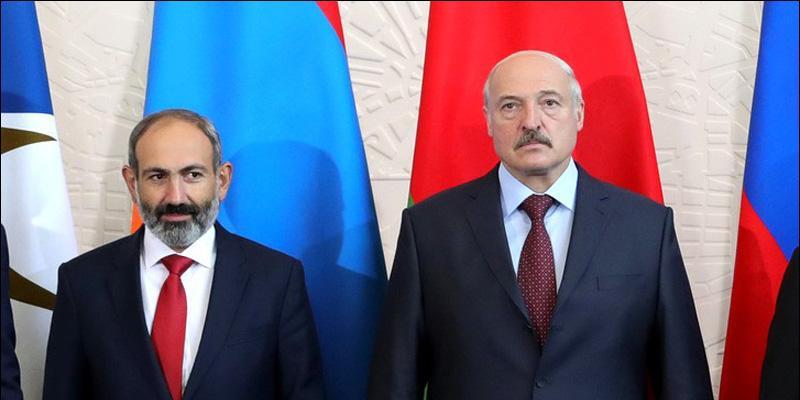 Лукашенко с Пашиняном сошлись во мнении о дороговизне российского газа