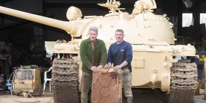 Коллекционер нашел в советском танке золотые слитки стоимостью 2,5 млн долларов