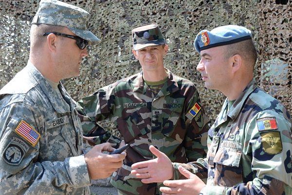 Американские войска провели учения у самой границы Приднестровья