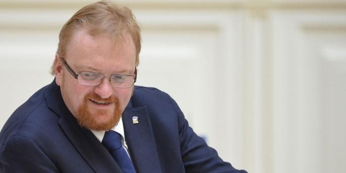 Милонов внес в Госдуму законопроект о регистрации в соцсетях по паспорту