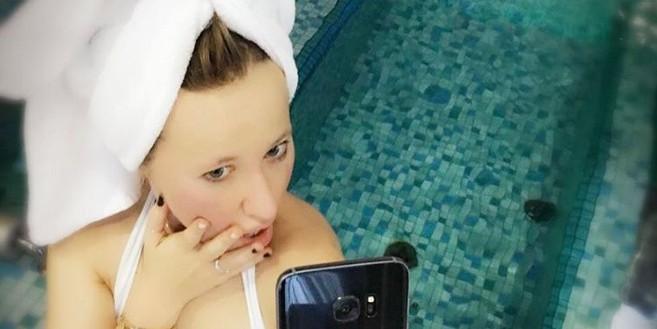 Собчак выложила фото из бани с Федором Бондарчуком