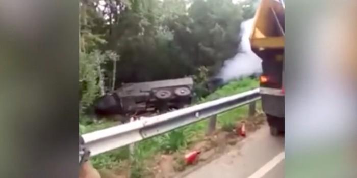 Два новейших российских броневика разбились на Кубани