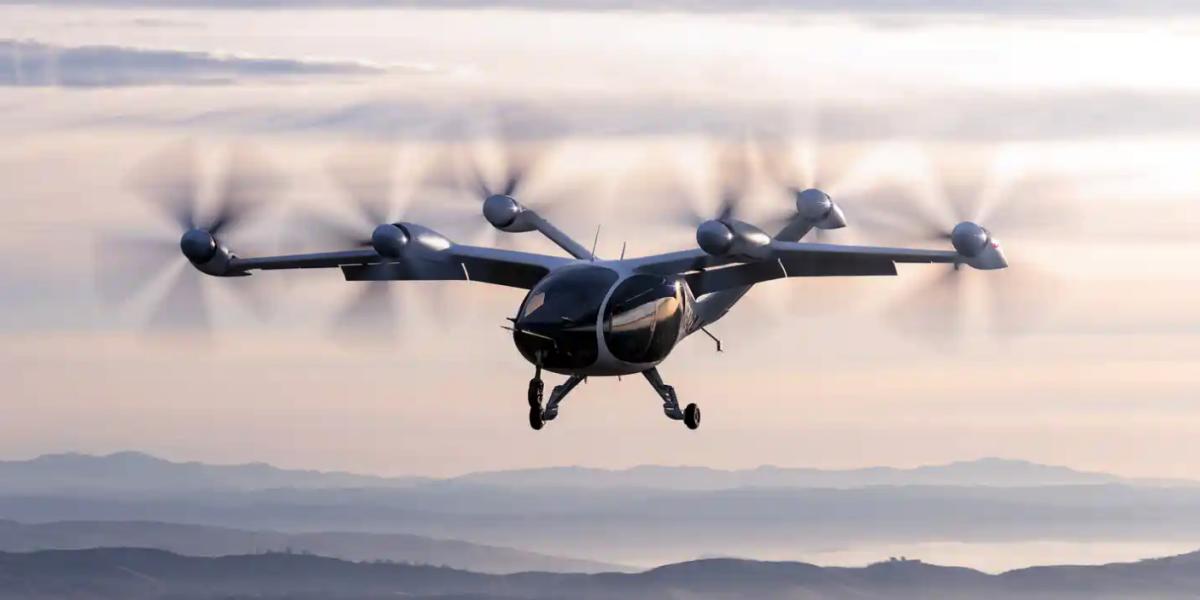 Опубликовано видео рекордного полета электросамолета с вертикальным взлетом