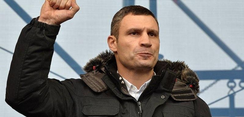 """Украинские журналисты поймали Кличко на """"распиле"""""""