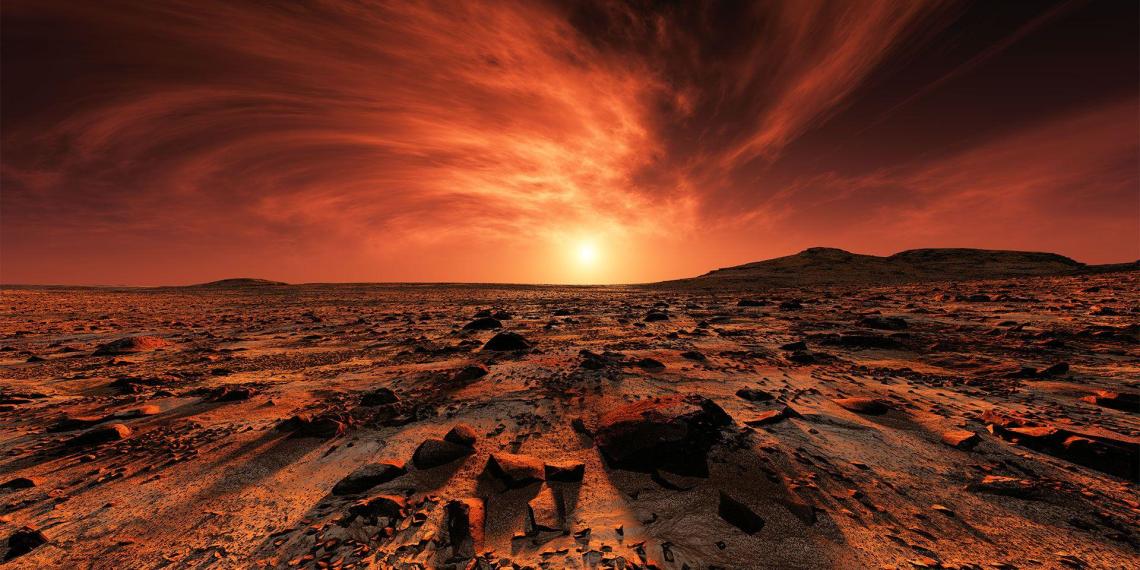 """""""Роскосмос"""" предложил запустить АЭС на Марсе"""