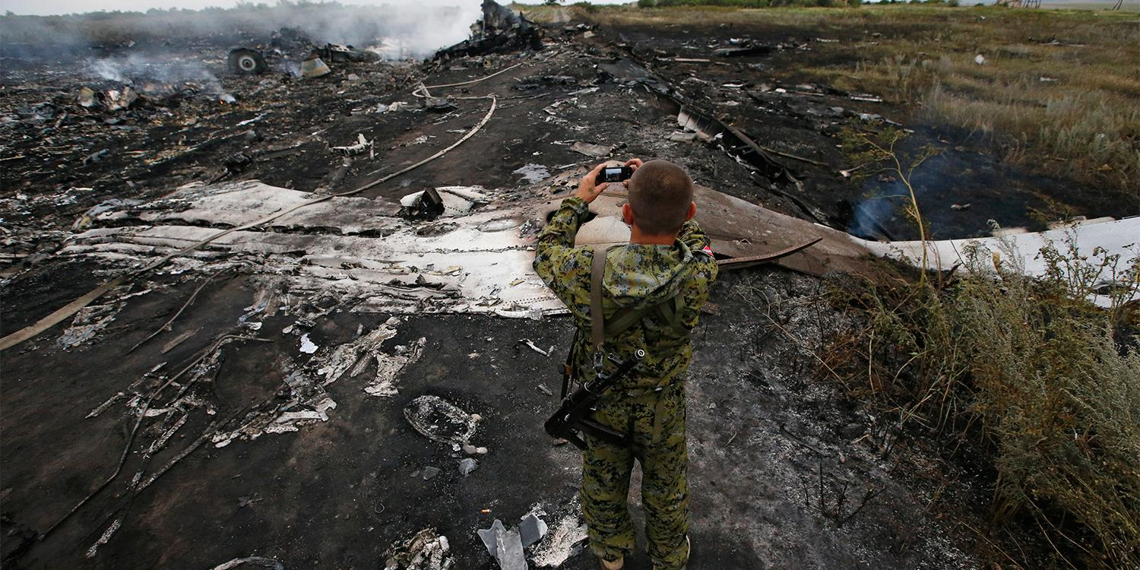"""Военная разведка Нидерландов: в районе крушения MH17 не было ни одного """"Бука"""""""