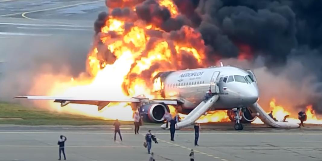 Пилот сгоревшего в Шереметьево SSJ-100 пойдет под суд