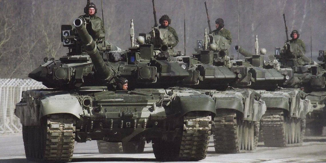 """Россия задействует первую танковую армию в маневрах """"Запад-2021"""""""