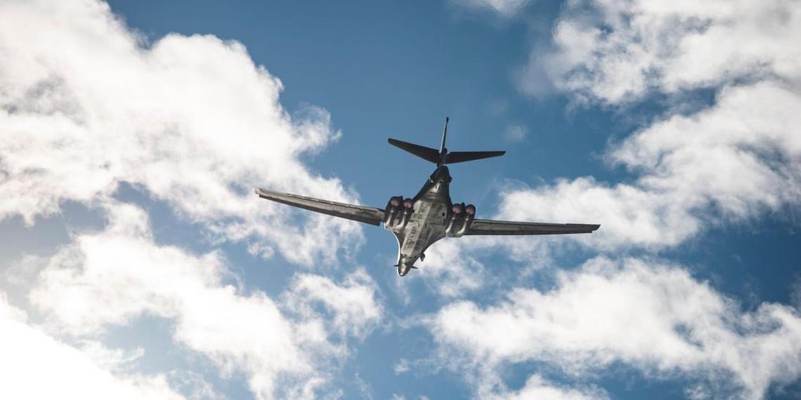 В Польше впервые приземлился стратегический бомбардировщик ВВС США