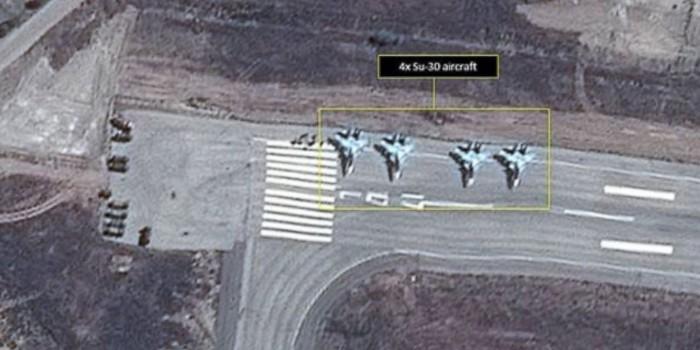 СМИ назвали типы самолетов РФ на авиабазе в Сирии