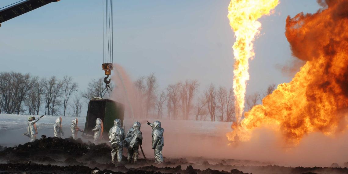 СМИ: в России могут начать сжигать лишнюю нефть