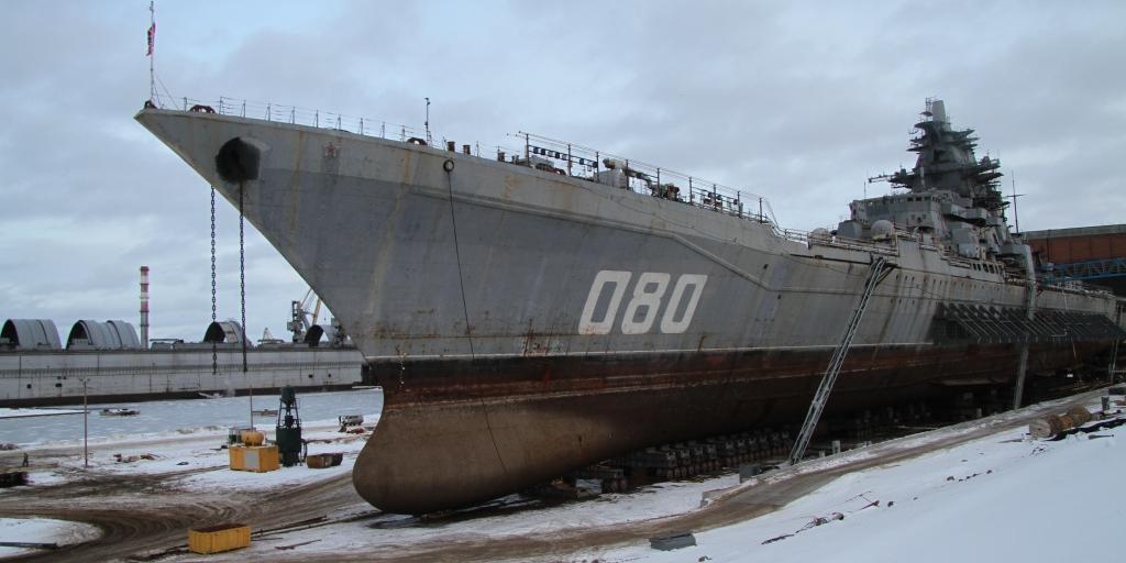 """В США назвали """"мертвым"""" мощнейший корабль ВМФ России"""