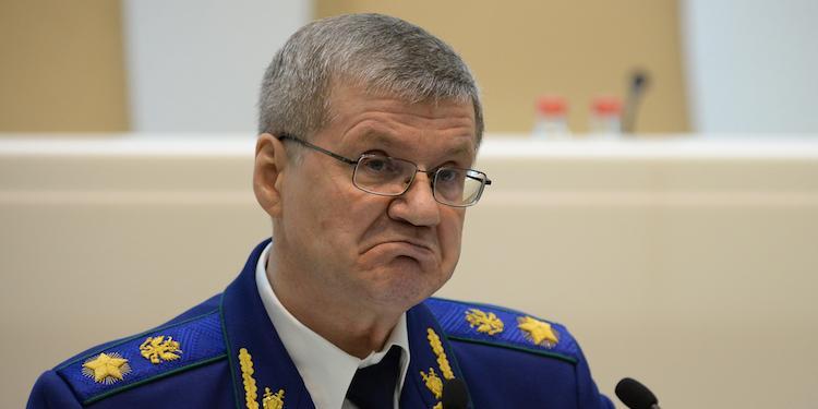 Чайка пожаловался на деградацию российских следователей
