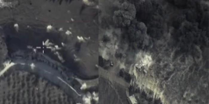 Министерство обороны опубликовало видео авиаударов по ИГИЛ