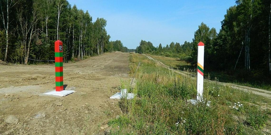 Минск опубликовал видео стрельбы литовских пограничников по мигрантам