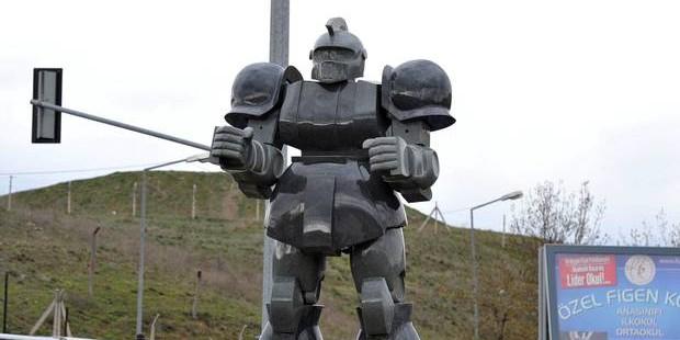 На мэра Анкары подали в суд из-за гигантской статуи робота