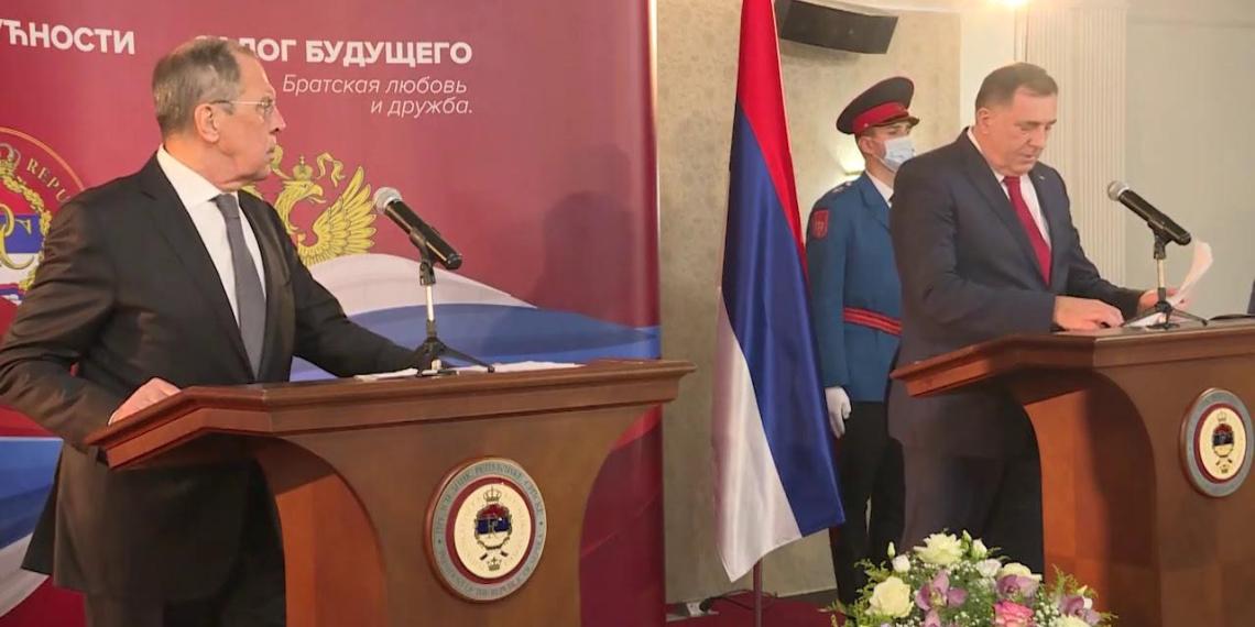 Украина потребовала объяснений от боснийских властей из-за подаренной Лаврову иконы
