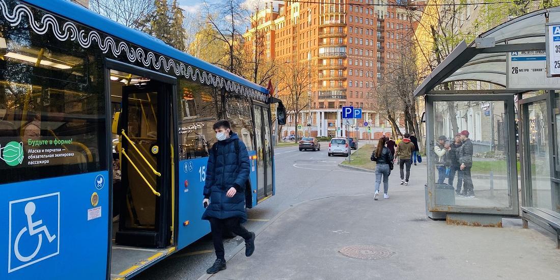 В Москве усилят проверки соблюдения масочного режима в транспорте
