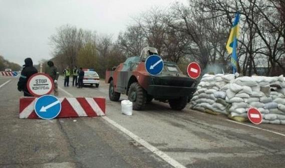 На въездах в Киев МВД Украины поставит снайперов