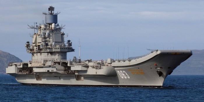 "Авианосец ""Адмирал Кузнецов"" покидает зону конфликта"