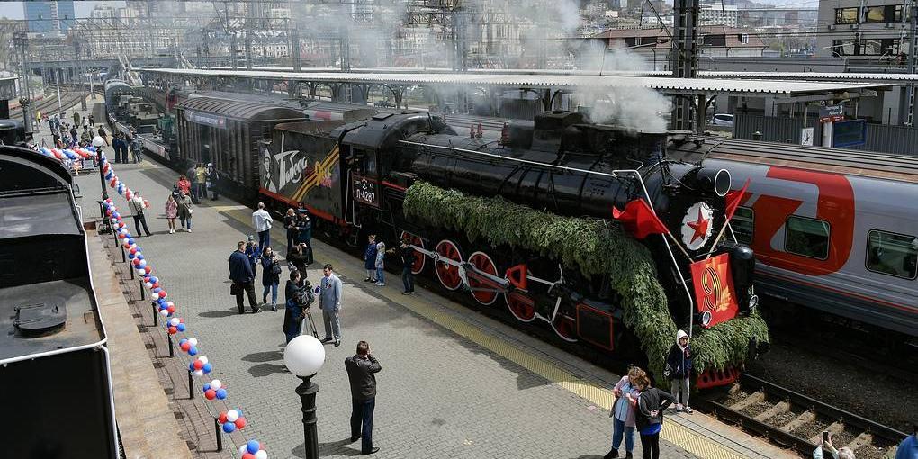 """После майских праздников """"Поезд Победы"""" отправится на Дальний Восток"""