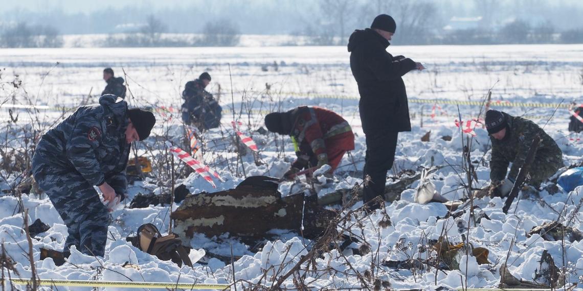 СКР назвал причины крушения Ан-148 в Подмосковье