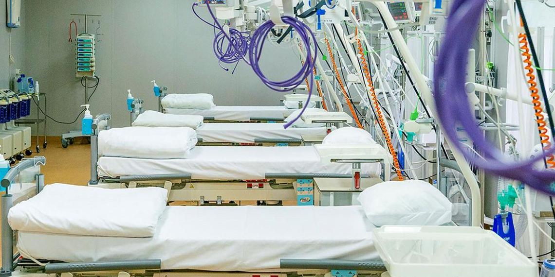 В Москве свободна половина коечного фонда для больных коронавирусом