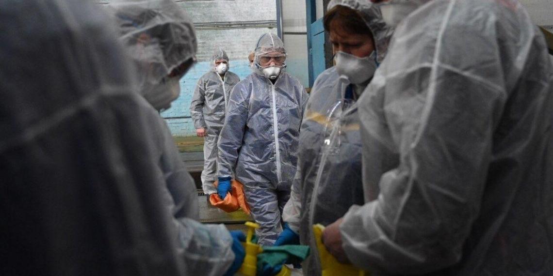 Число заболевших коронавирусом в России выросло до 1036 человек