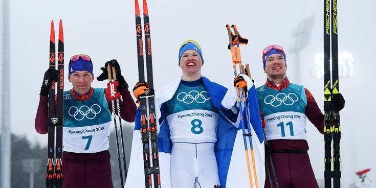 Российские лыжники завоевали серебро и бронзу в марафоне