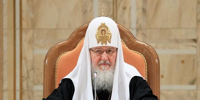 Патриарх Кирилл поздравил Порошенко с Днем независимости