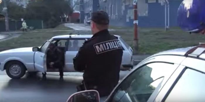 В Киеве милиция вызвала полицию