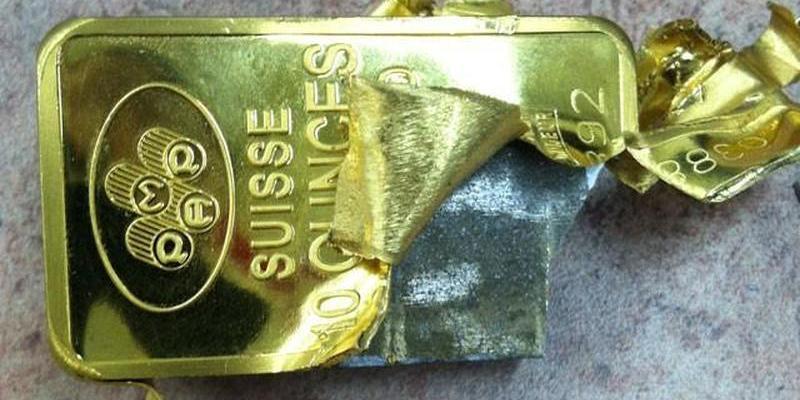 Часть золотого запаса Китая оказалась позолоченной медью