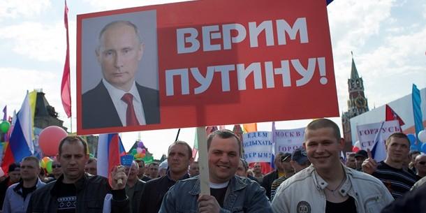 Россияне объяснили, почему доверяют Путину