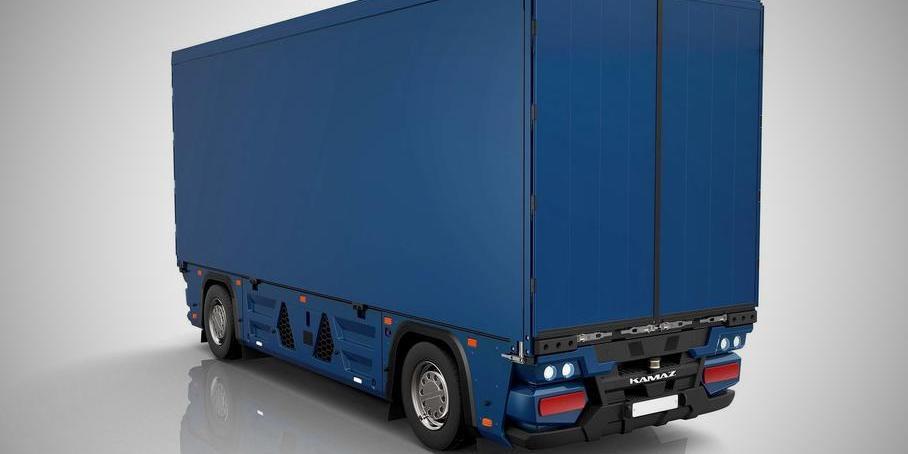 КАМАЗ показал первый электрический грузовик без кабины