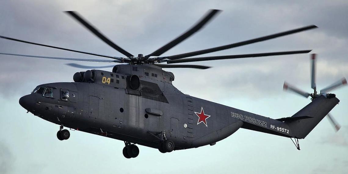 Тяжелый вертолет Ми-26 прибудет в Якутию для транспортировки спецтехники