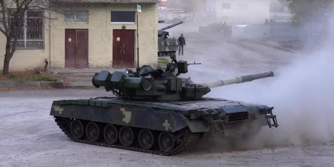 National Interest: украинские Т-80 превосходят российские