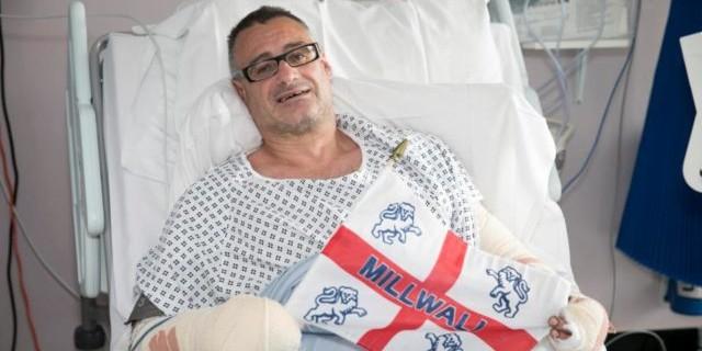 Футбольный фанат получил 8 ударов ножом, защищая людей от террористов в Лондоне
