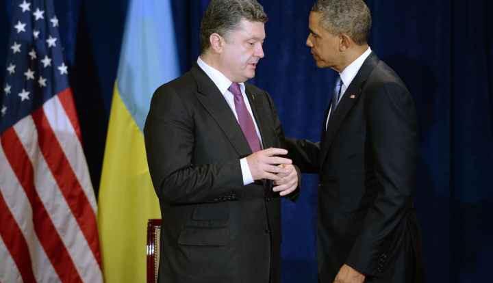 Порошенко попросил США помочь перекрыть границу с Россией