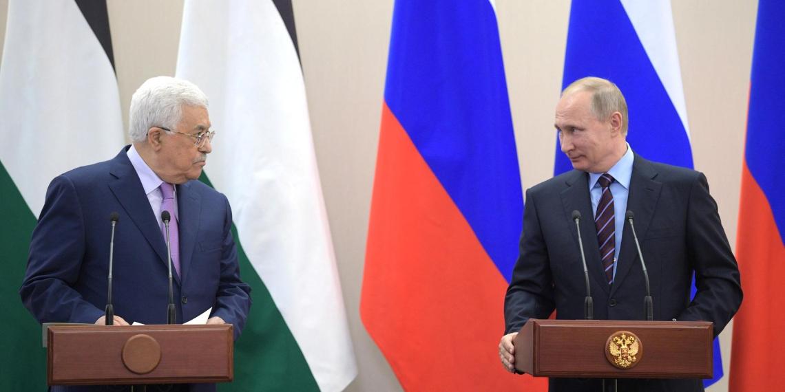 Президент Палестины попросил Путина помочь в урегулировании конфликта с Израилем