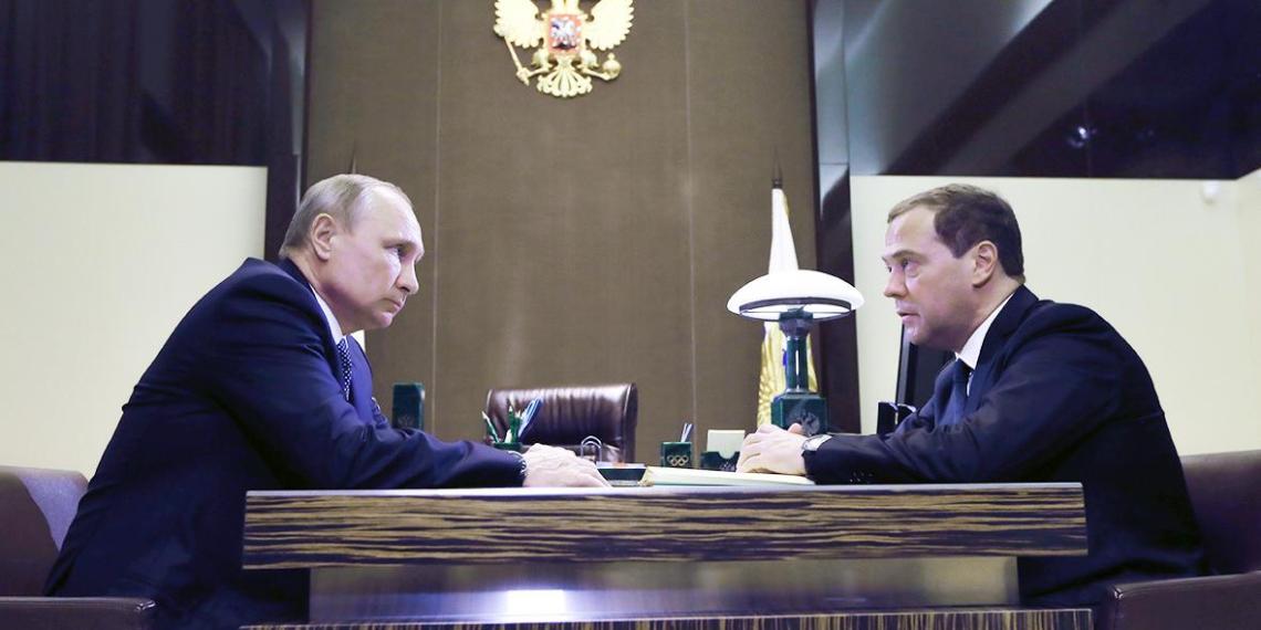 Медведев представил Путину новый кабинет министров