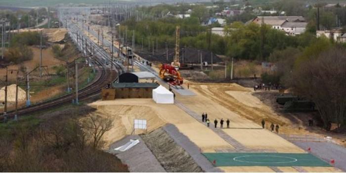 Россия ввела в строй железную дорогу в обход Украины